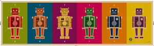 Retro Robot Faktum Banner