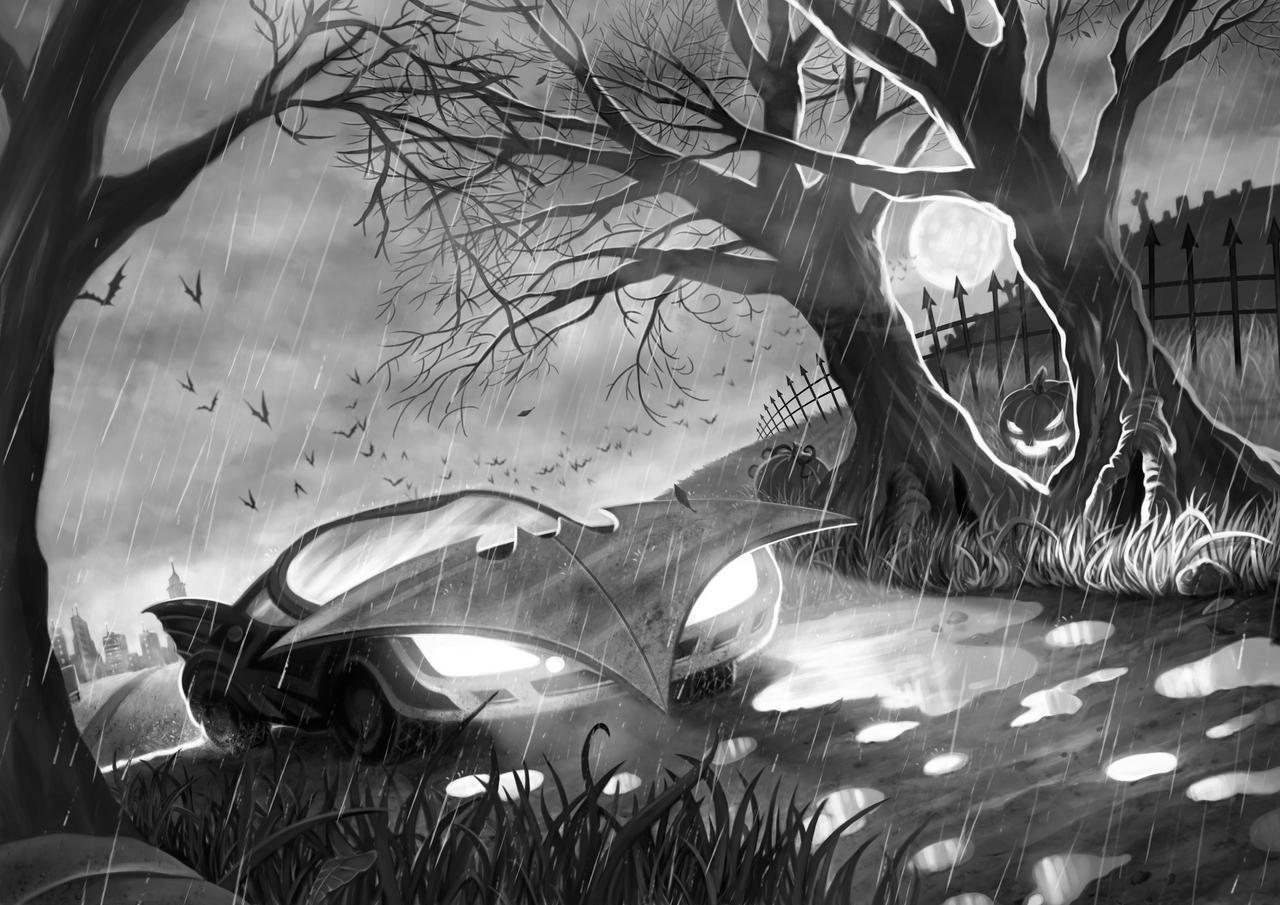 Batman Noir - Pages 3 and 4 by JoelPoischen