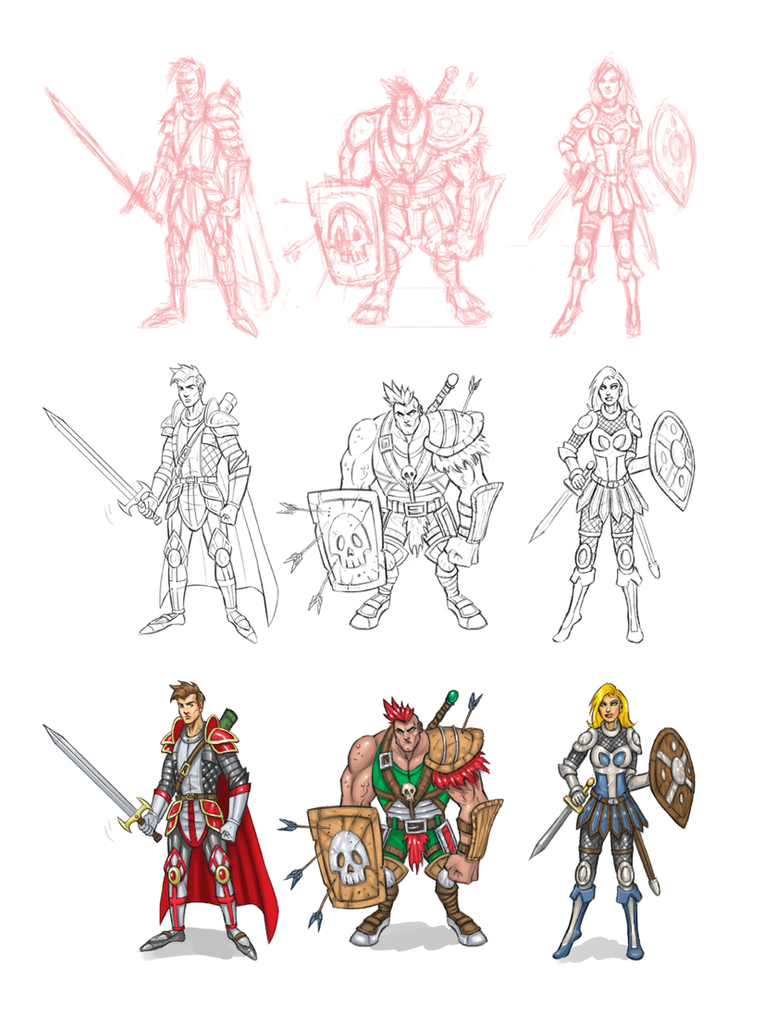 D Artiste Character Design Download : Knight character designs by joelpoischen on deviantart