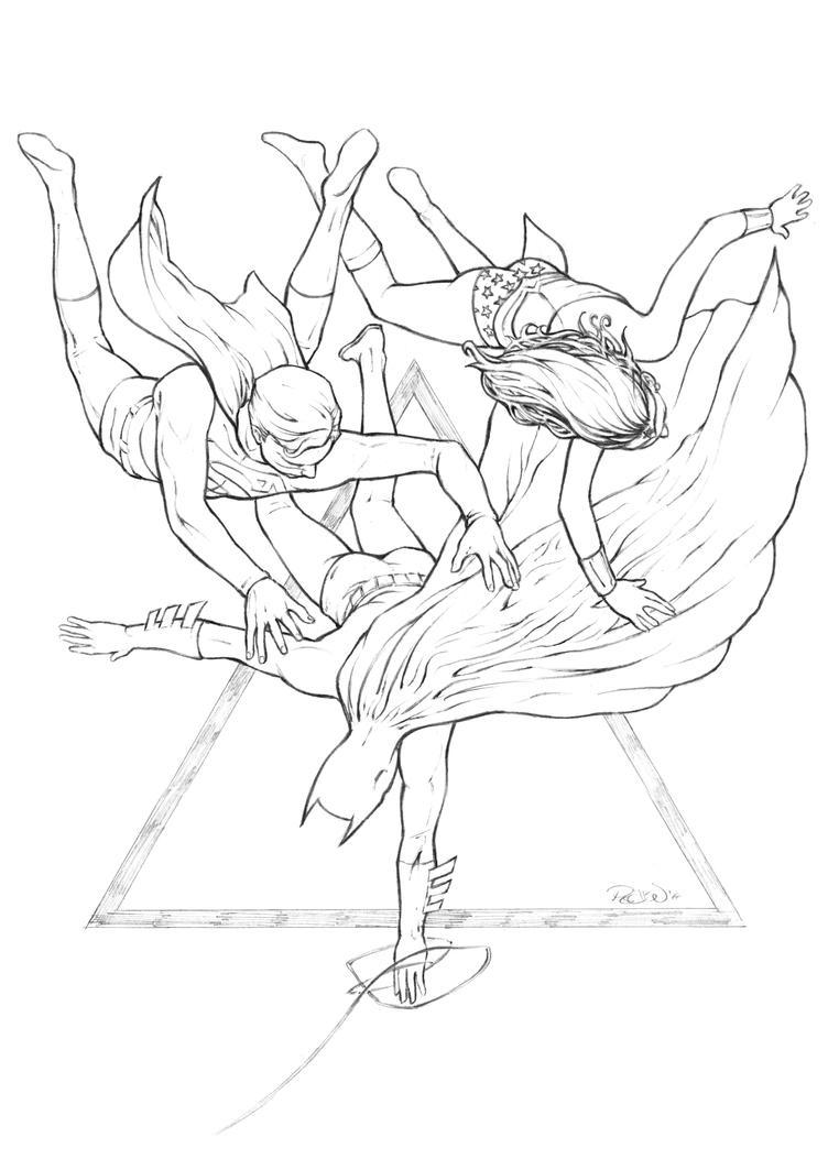 Trinity Falling by JoelPoischen