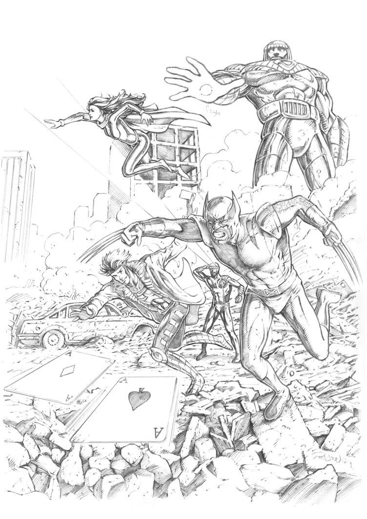 X-Men Rampage by JoelPoischen