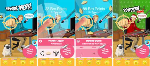 PewDie Brofist - iOS mobile game by JoelPoischen