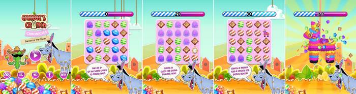 Candie's Crunch Chronicles - iOS mobile game by JoelPoischen