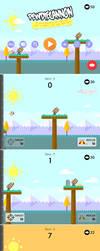 PewDieCannon - iOS mobile game by JoelPoischen
