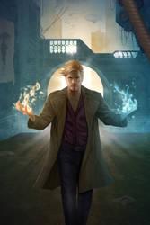 Esper Files book cover by JoelPoischen