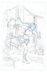 Run Lara Run! by JoelPoischen