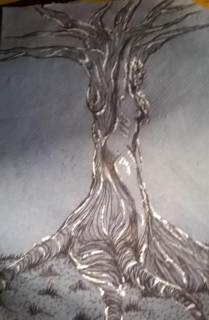 lady tree by Eeemia12