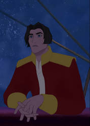 Jim Hawkins as an adult