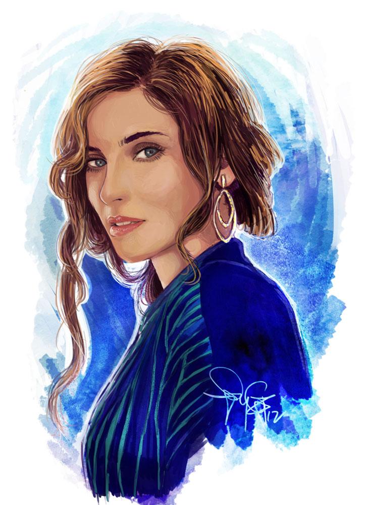 Portrait - Nelly Furtado by SpyG