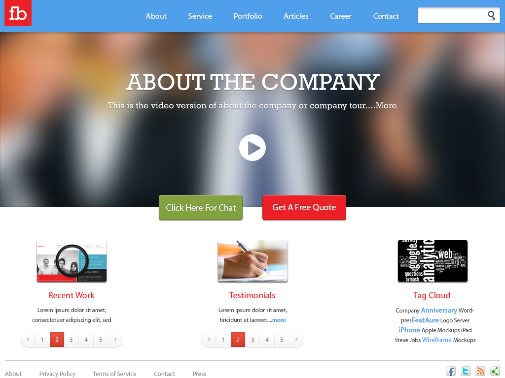 Free Company Profiles Template sales visit report template share ...