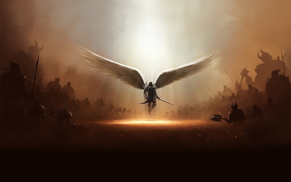What does archangel michael look like