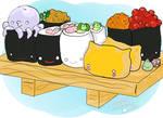 Sushi Doodle by Jonisey