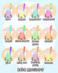Boba Monsters by Jonisey