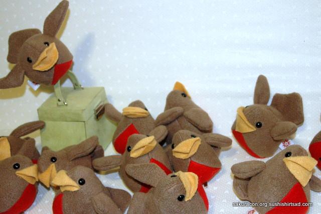 Flock to Sakura Con by Jonisey