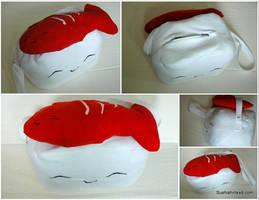 Nigiri Sushi Messenger Bag by Jonisey
