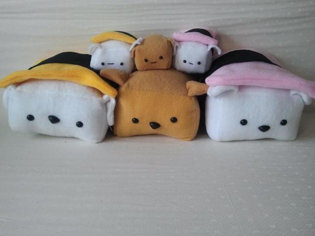Sushi Dog Family by Jonisey