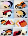 Sushi Pug Toppings
