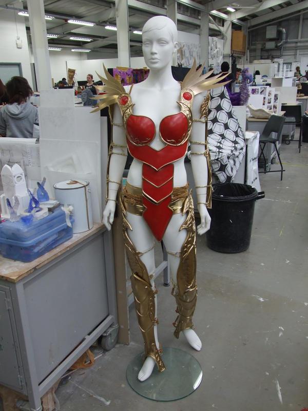 First Born- Celestine Armour by TheGoddess908