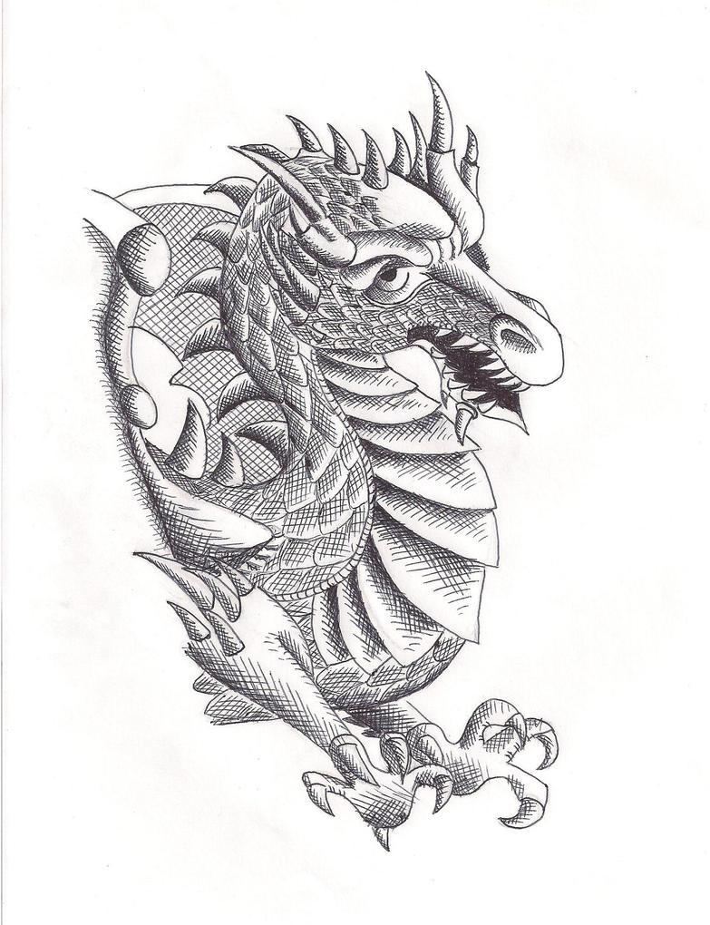 Pen-Dragon by TheGoddess908
