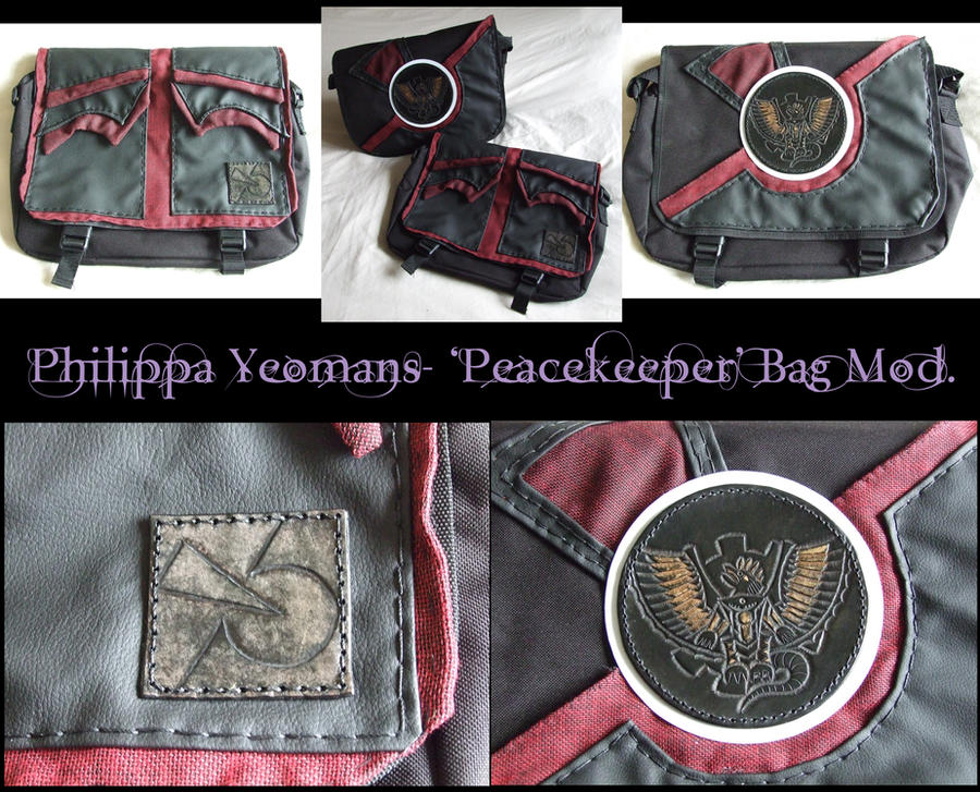 Farscape Peacekeeper Bag Modifications by TheGoddess908