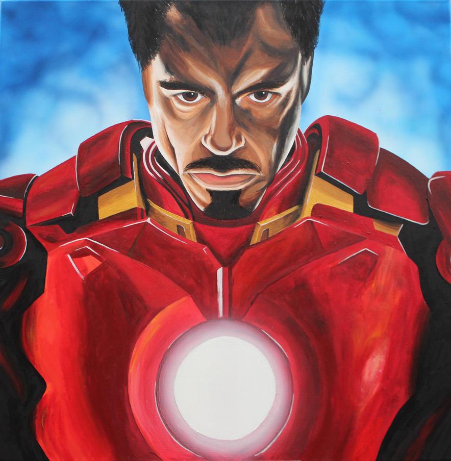 Iron Man by TheGoddess908