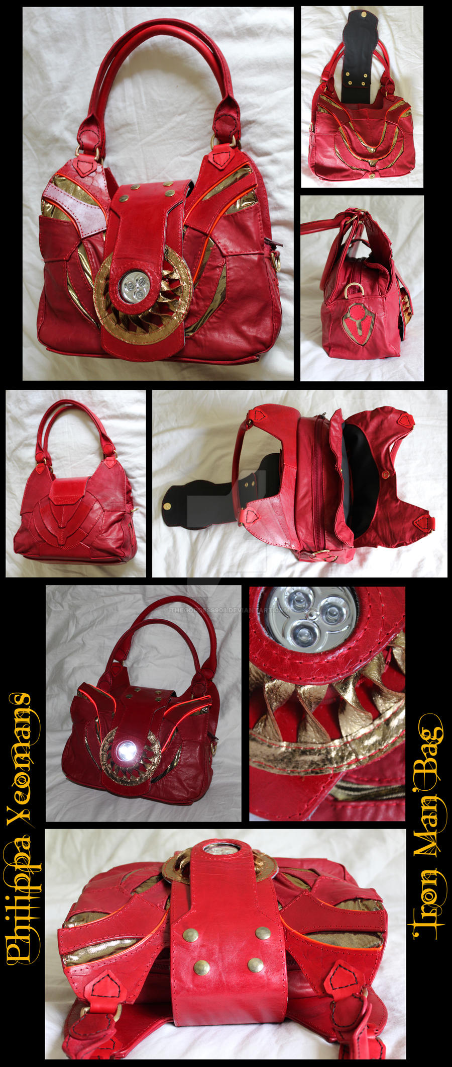Iron Man Bag by TheGoddess908