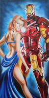 12% of a Partnership- Iron Man/ Pepper Potts