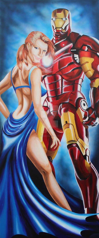 12% of a Partnership- Iron Man/ Pepper Potts by TheGoddess908
