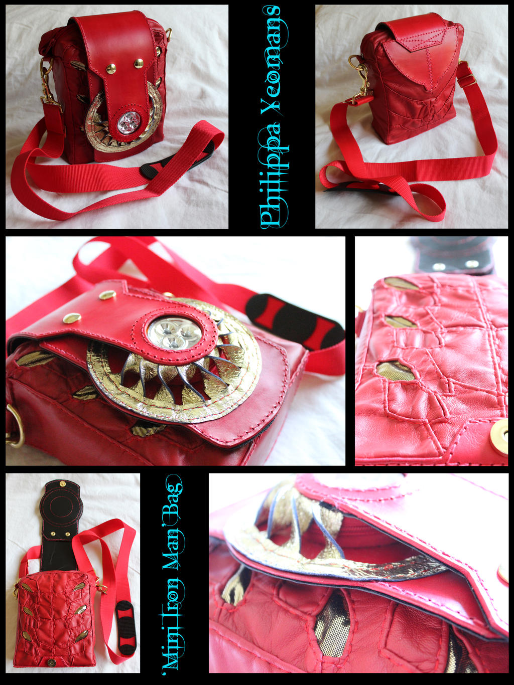 Mini iron man bag by thegoddess908 on deviantart - Mini iron man ...