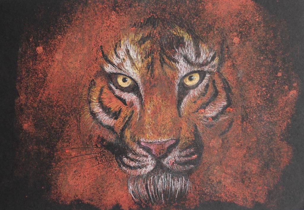 Tiger by TheGoddess908