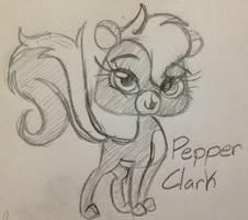 Pepper Clark sketch by Miss-Zi-Zi