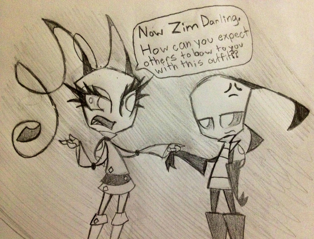 Come now Zim by Miss-Zi-Zi