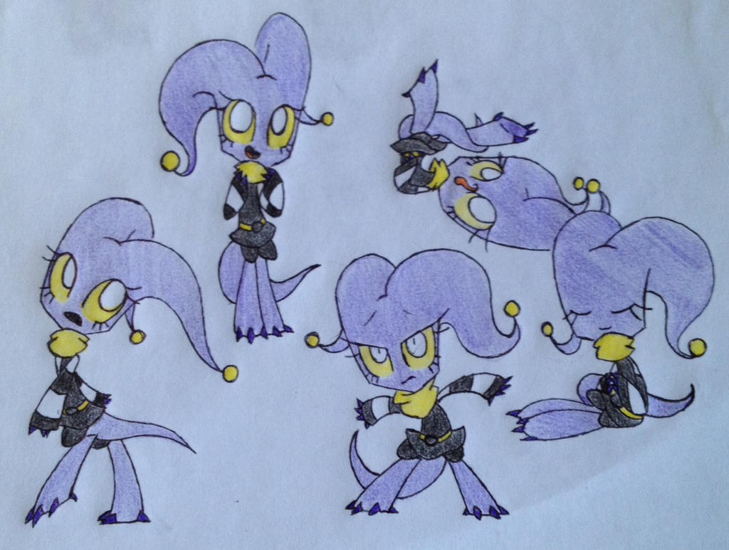 AT: Yellow Eyes by Miss-Zi-Zi