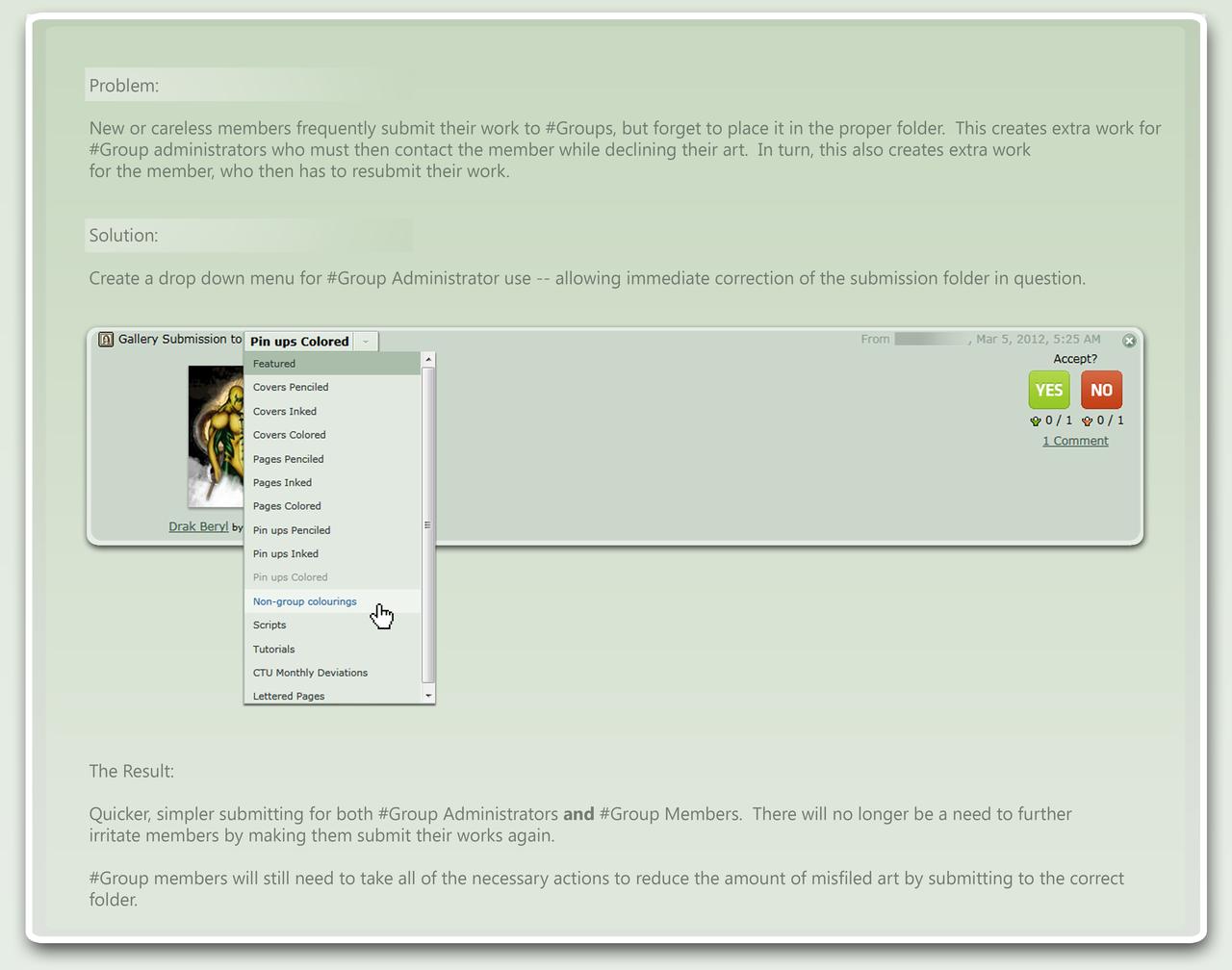 New Folder Drop-Down by AshDayArt