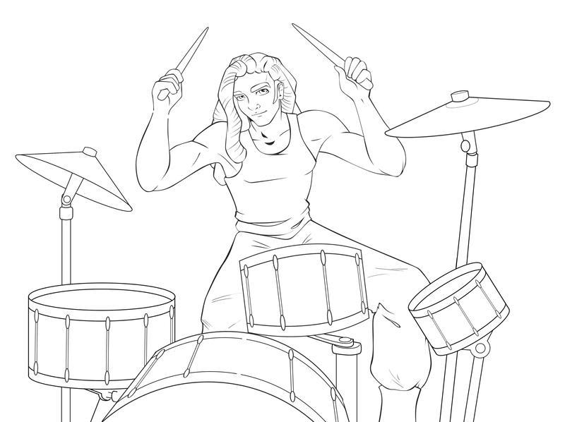 Drummer Boy By AshDayArt On DeviantArt