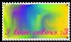 I love colors by prinsesitawlissy