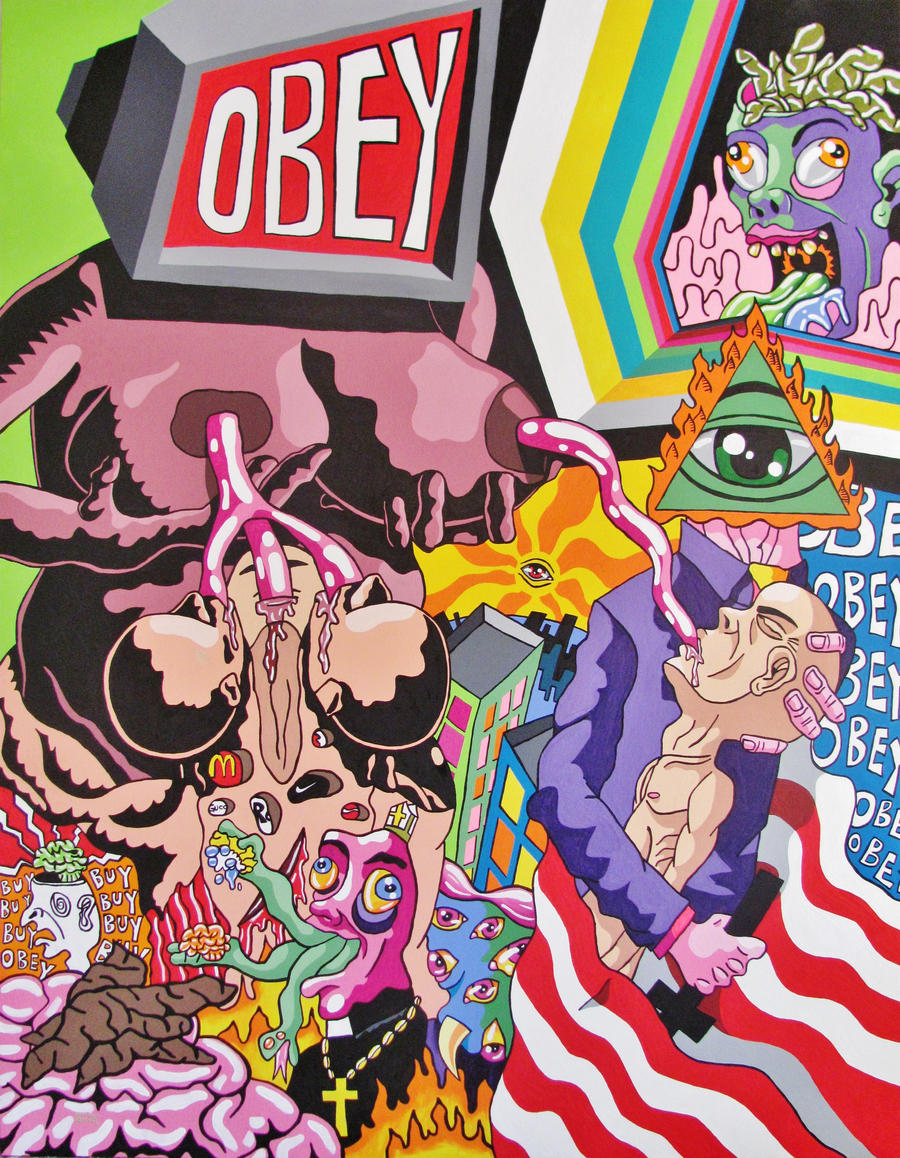 Fantastic Wallpaper Music Pop Art - obey_feeding_us_with_bullshit__by_gerardogomez-d3aau5o  Collection_153421.jpg