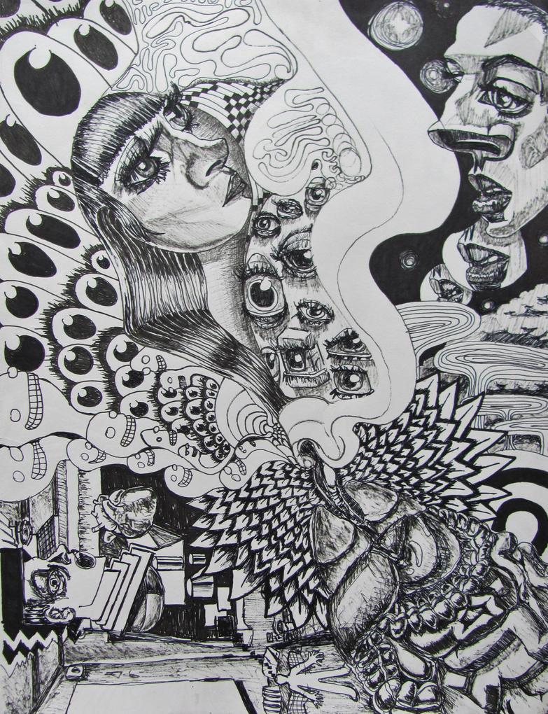 Lysergic love poems by GerardoGomez