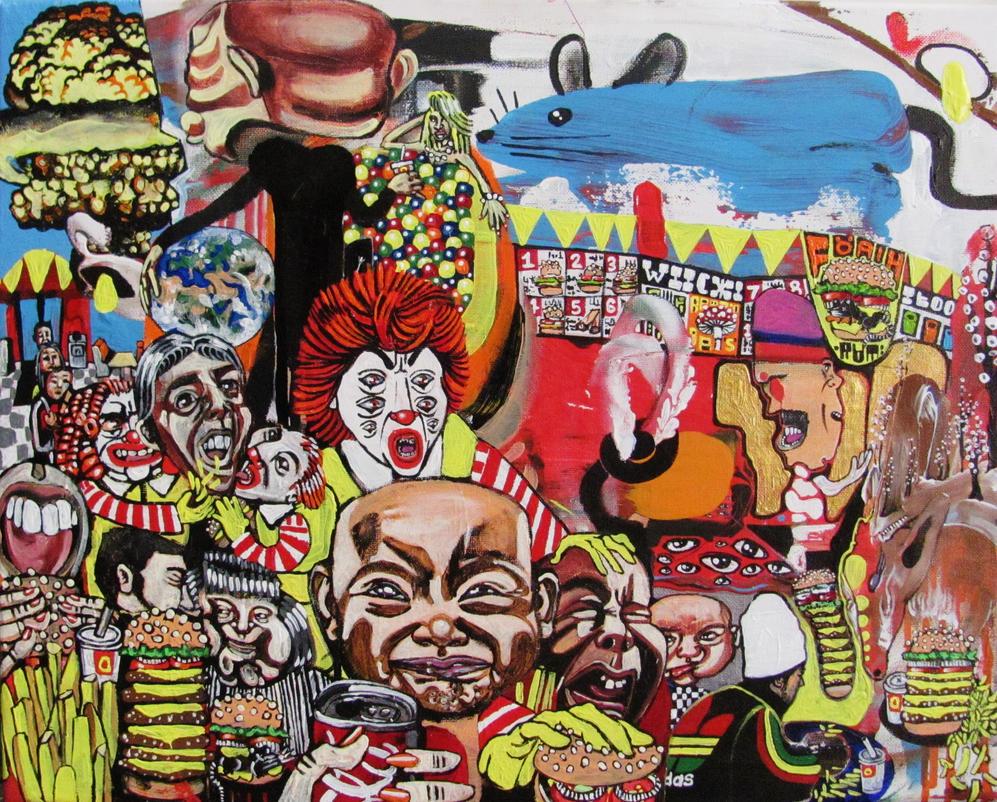 Generous god of chaos by GerardoGomez