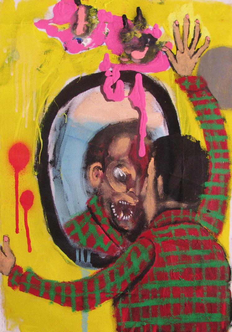 Looking oneself in the mirror by GerardoGomez