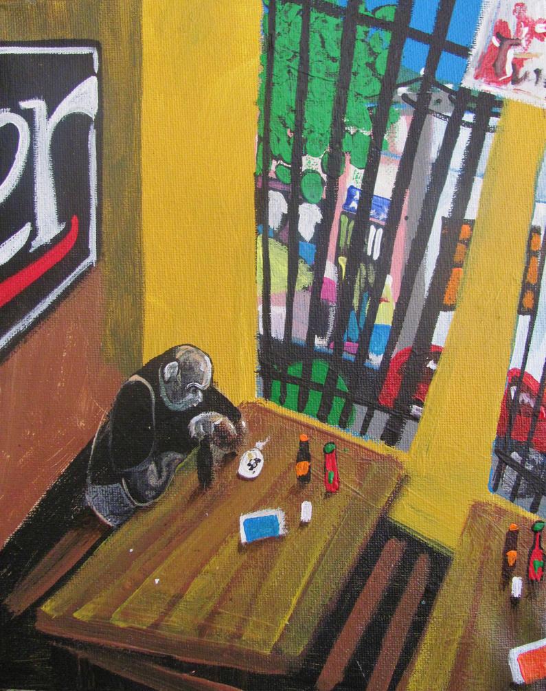 Man next to the window by GerardoGomez