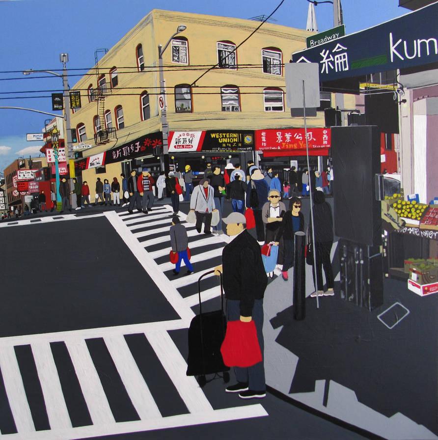 Stockton and Broadway, China Town, San Francisco by GerardoGomez
