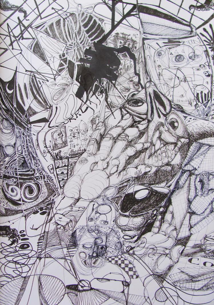 The Discomfort of Existence by GerardoGomez