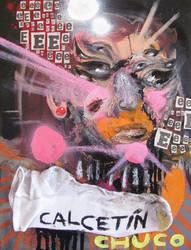Retrato con calcetin chuco by GerardoGomez