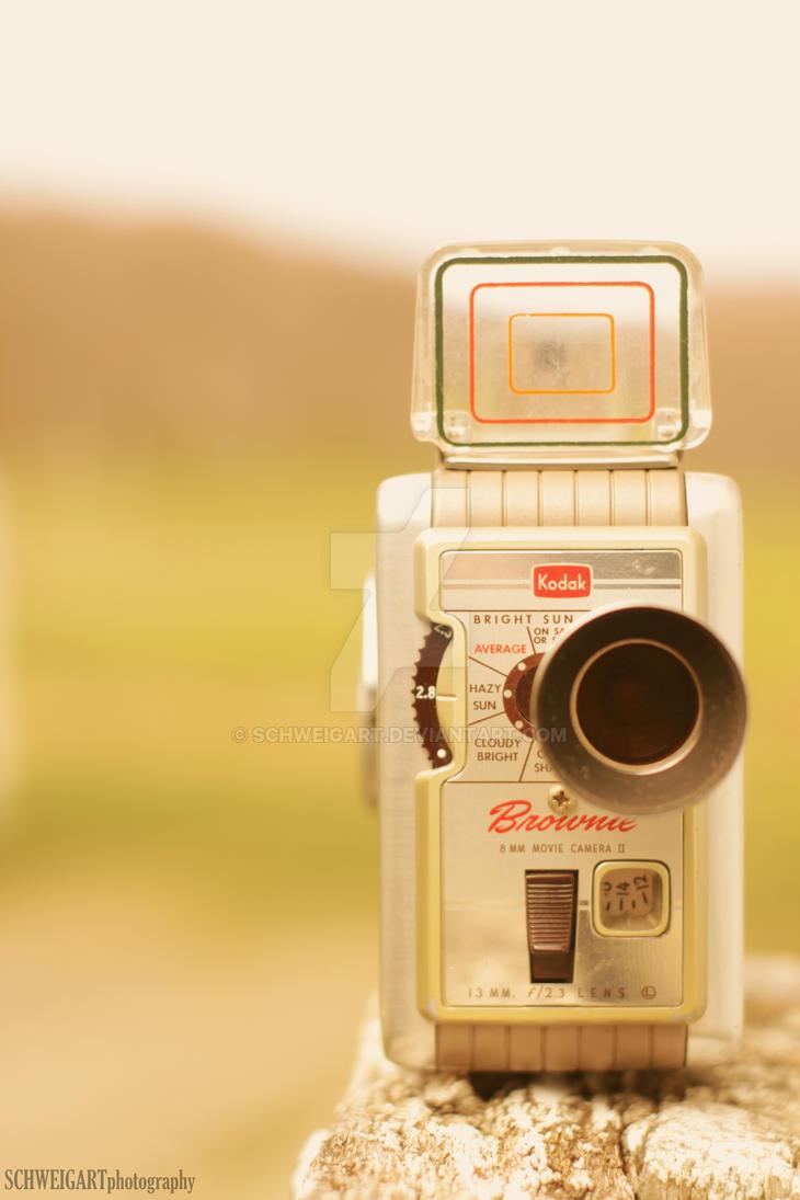 Kodak Brownie II movie camera by Schweigart