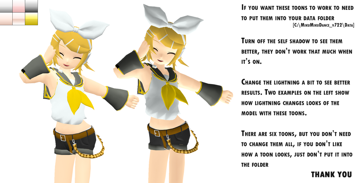 _MMD_ New Toons V.2 by xXHIMRXx
