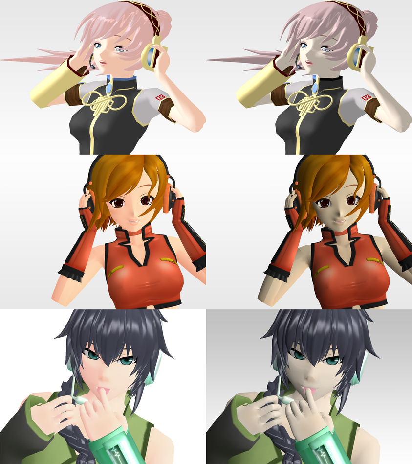 _MMD_ Unedited pictures 5 by xXHIMRXx