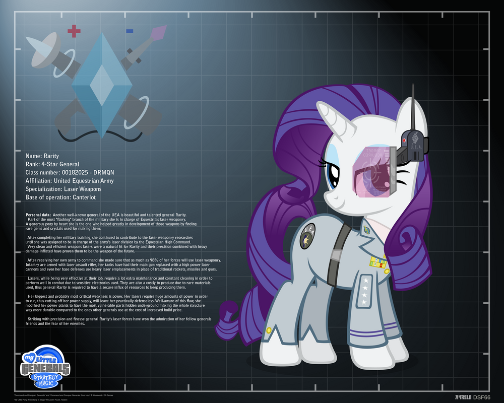 General Rarity - profile info by A4R91N