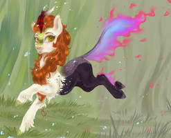 Blazing Autumn by CoconutHound