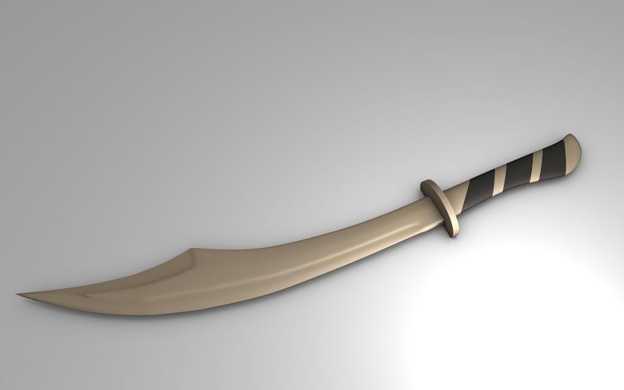 The gallery for --> Persian Scimitar Sword